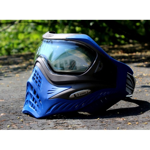 "VForce Grill ""Grey on Blue"" klares Thermal Glas Paintball Maske"