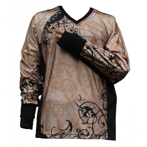 "PbC Tournament Paintball Jersey ""Ghost"" Braun"