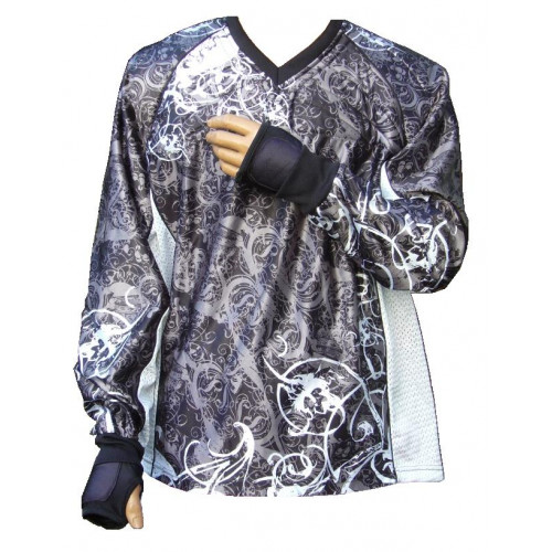 "PbC Tournament Paintball Jersey ""Ghost"" Grau"