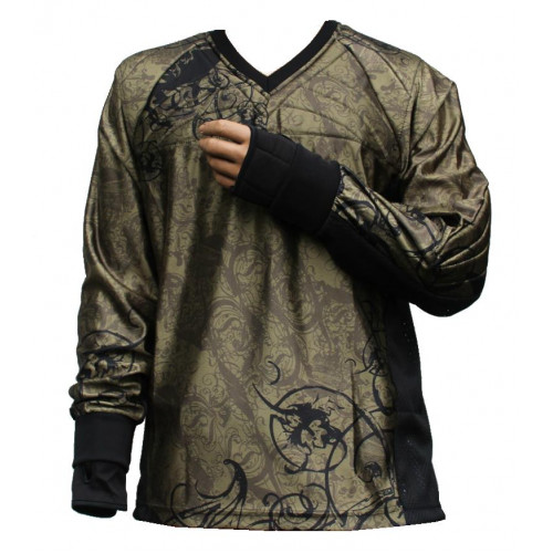 "Paintball Jersey ""Ghost"" (olive)"