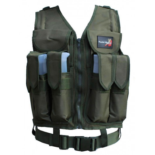 Paintball Tactical Weste Olive